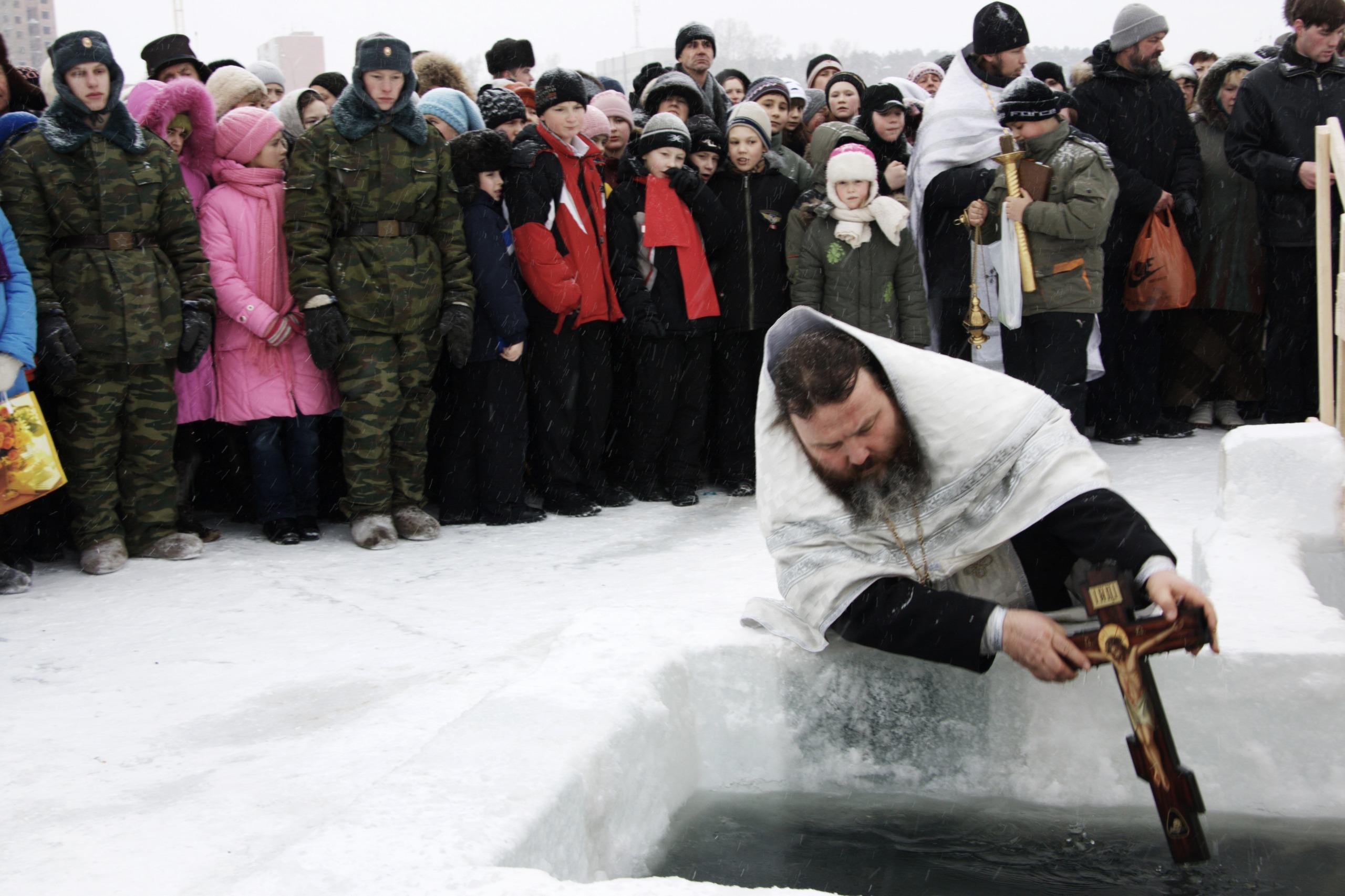 Fêter l'Epiphanie en Russie dans un bain de glace - Tsar Voyages
