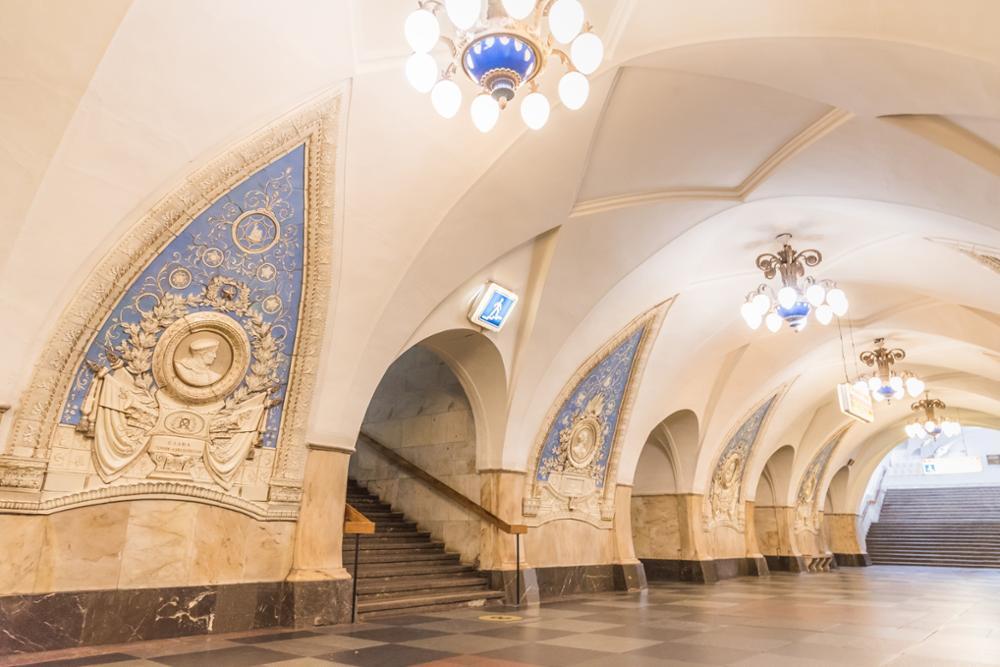 Les plus belles stations de métro à Moscou