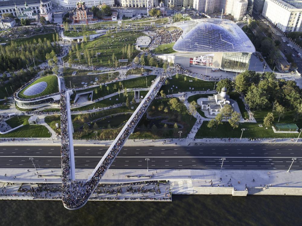 Les plus beaux parcs de Moscou